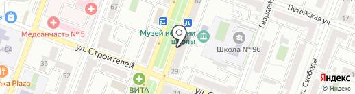 Тамбовчанка на карте Самары