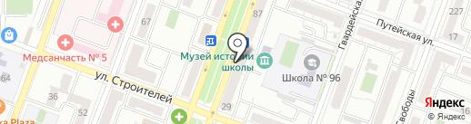 Чебоксарский трикотаж на карте Самары