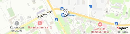 Магазин канцтоваров на карте Самары