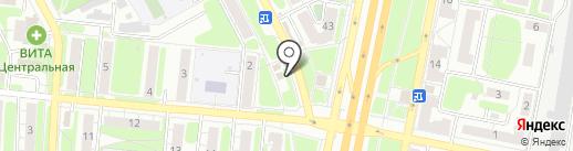 Пятница на карте Самары