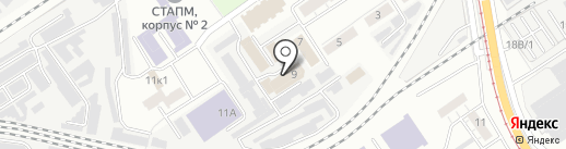 Студия стекла на карте Самары