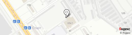 Верда-Самара на карте Самары