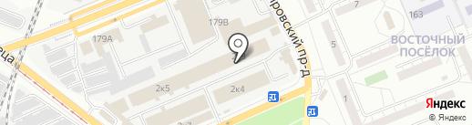 Поволжский дом сайдинга на карте Самары