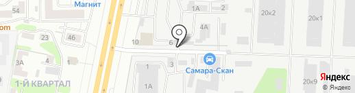 Самараплитка на карте Самары
