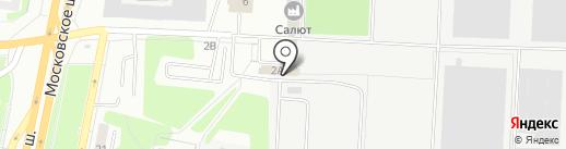 Аякс на карте Самары