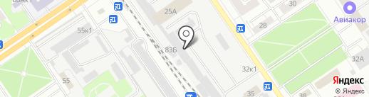 Викомп на карте Самары