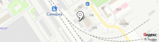 ПЭТ Поволжье на карте Самары