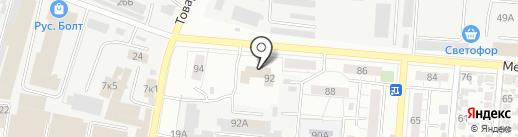 Самара-АРИС на карте Самары