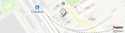 Мекликом на карте Самары