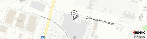 Трубное решение на карте Самары