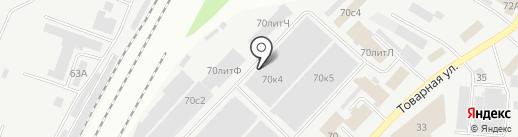 Макслевел на карте Самары