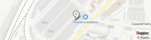 Каравелла на карте Самары