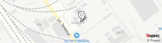 Инкар-М на карте Самары