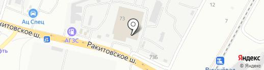АЛЬЯНС-АВТО на карте Самары