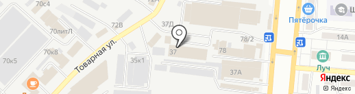 Ракита на карте Самары