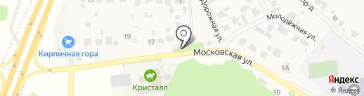 Барвиха на карте Новосемейкино