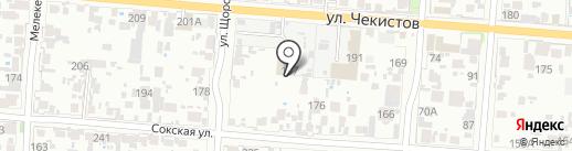 Энерго на карте Самары