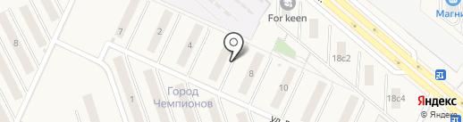 КОШЕЛЕВ-проект на карте Смышляевки