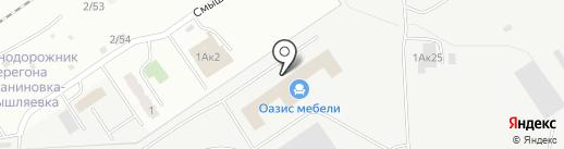 Самарский Дом Стекла на карте Самары