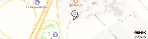 АГЗС на ул. 2 подъем на карте Новосемейкино