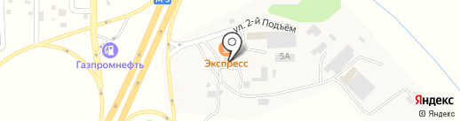 ОстаСнаб на карте Новосемейкино