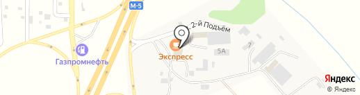 Экспресс на карте Новосемейкино