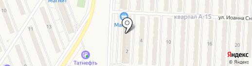 Бухен Хаус на карте Смышляевки