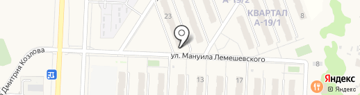 Пеликан на карте Смышляевки