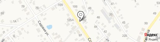 РС Серного завода на карте Новосемейкино