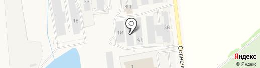 АКВА ТЕРРА на карте Новосемейкино