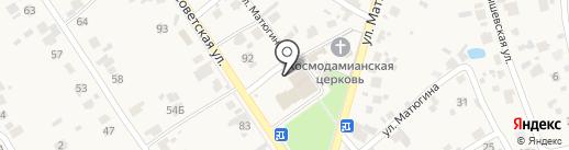 Аксион-Электро на карте Новосемейкино