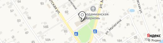 Банкомат, Поволжский банк Сбербанка России на карте Новосемейкино