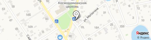 АлкоМаркет на карте Новосемейкино