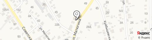 Эллипс на карте Новосемейкино