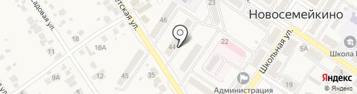 Мастерская на карте Новосемейкино