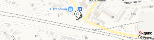 Цветочный магазин на карте Новосемейкино