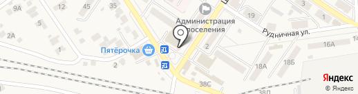 Магазин CD/DVD дисков на карте Новосемейкино