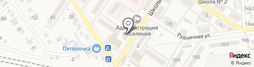 Ритуальное бюро на карте Новосемейкино