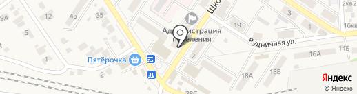 Платежный терминал, Сбербанк, ПАО на карте Новосемейкино