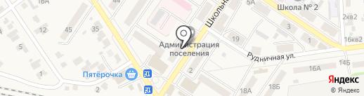 Поволжский банк Сбербанка России на карте Новосемейкино