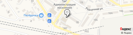 Парикмахерская на карте Новосемейкино