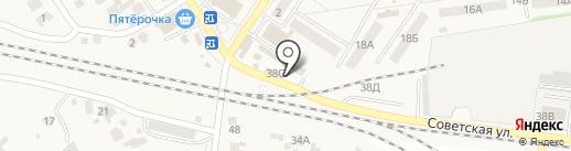 Киоск по продаже хлебобулочных изделий на карте Новосемейкино