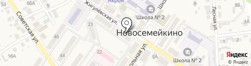 Парикмахерский салон Елены Бирюковой на карте Новосемейкино