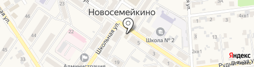 Ремонтная мастерская на карте Новосемейкино