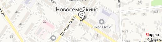 Qiwi на карте Новосемейкино