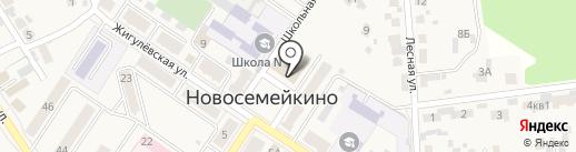Мои документы на карте Новосемейкино