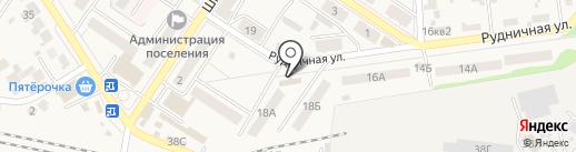 Почтовое отделение №2 на карте Новосемейкино