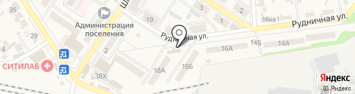 Гном на карте Новосемейкино