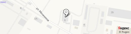 Химпром на карте Смышляевки