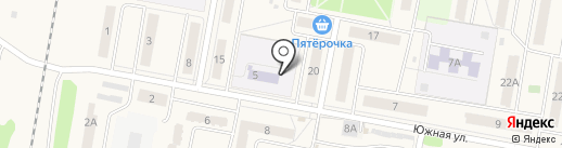 Детский сад на карте Петры Дубравы